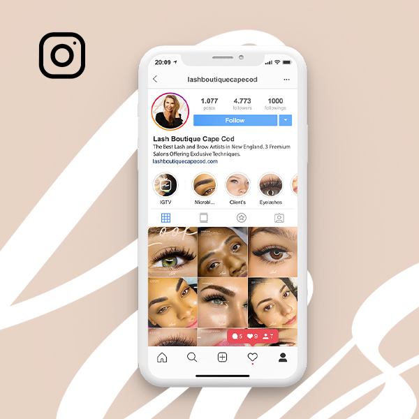 Lash Boutique – Social Media