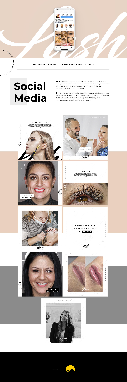 Lash Boutique – Social Media - Desktop
